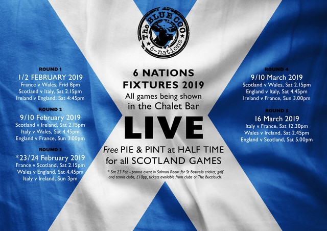Six Nations Kicks Off Next Friday, 1st February