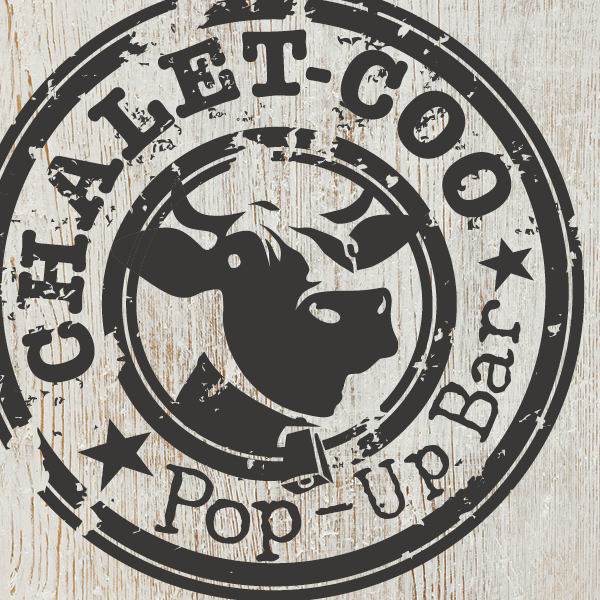 Blue Coo Chalet Pop-Up Bar back by popular demand!