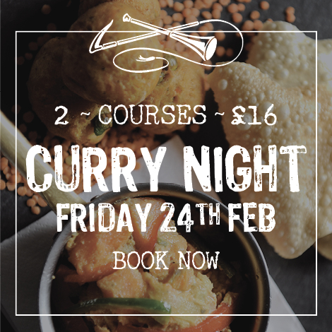 Curry Night Friday 24th February