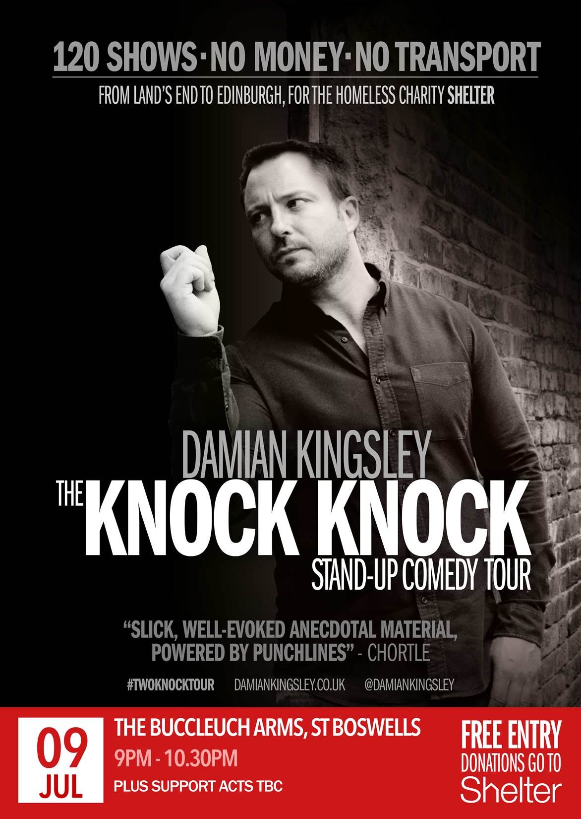 Damian Kingsley, The Knock-Knock Stand Up Comedy Tour
