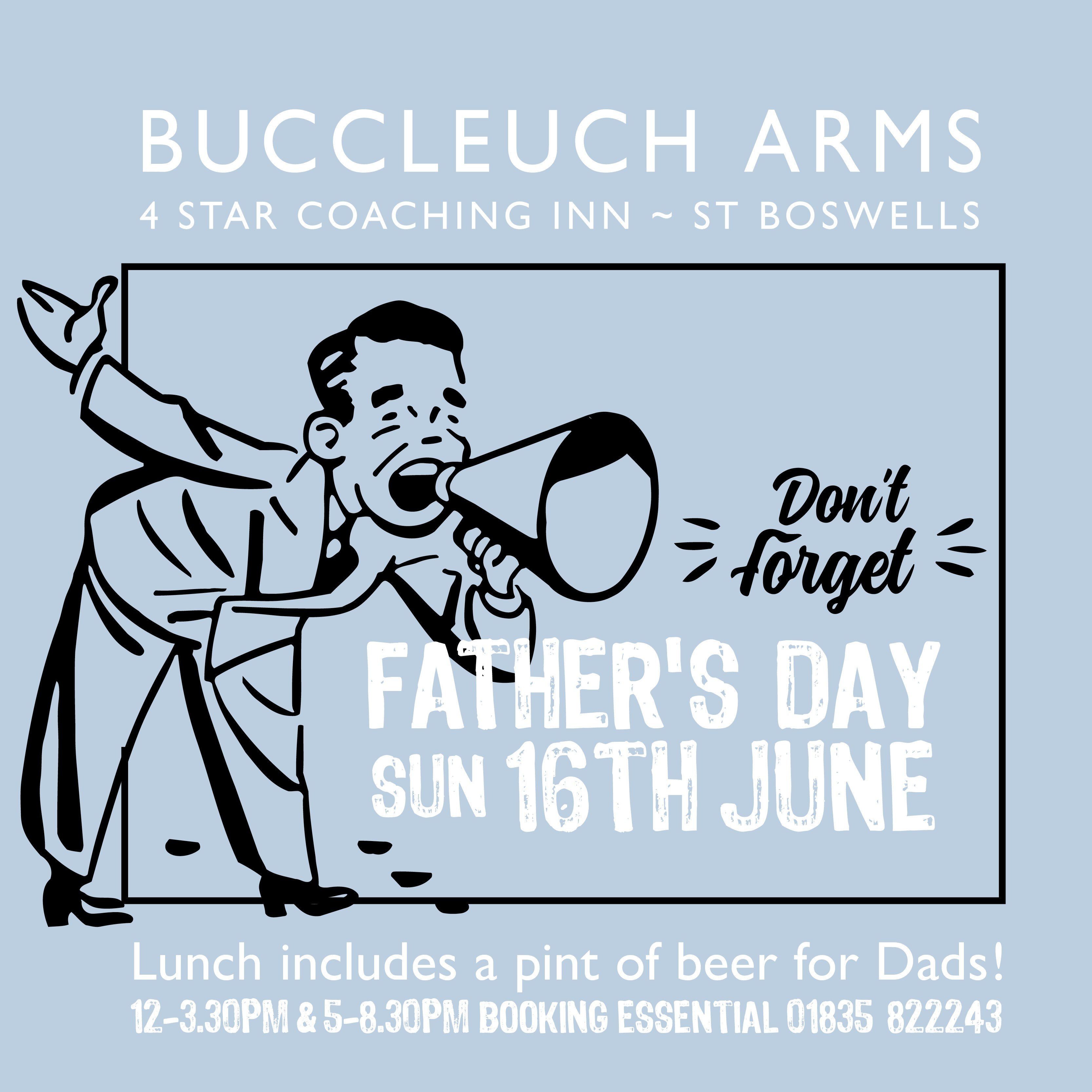 Father's Day Sunday 16th June